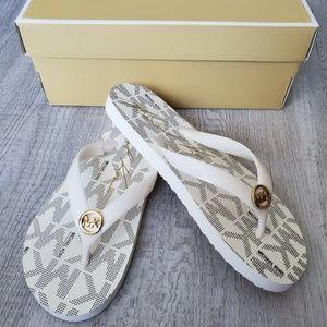 Michael Kors MK Flip Flop Slide Sandals